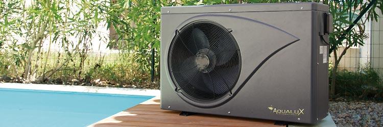 Pompe chaleur aqualux courroie de transport for Chauffage piscine vesuvio