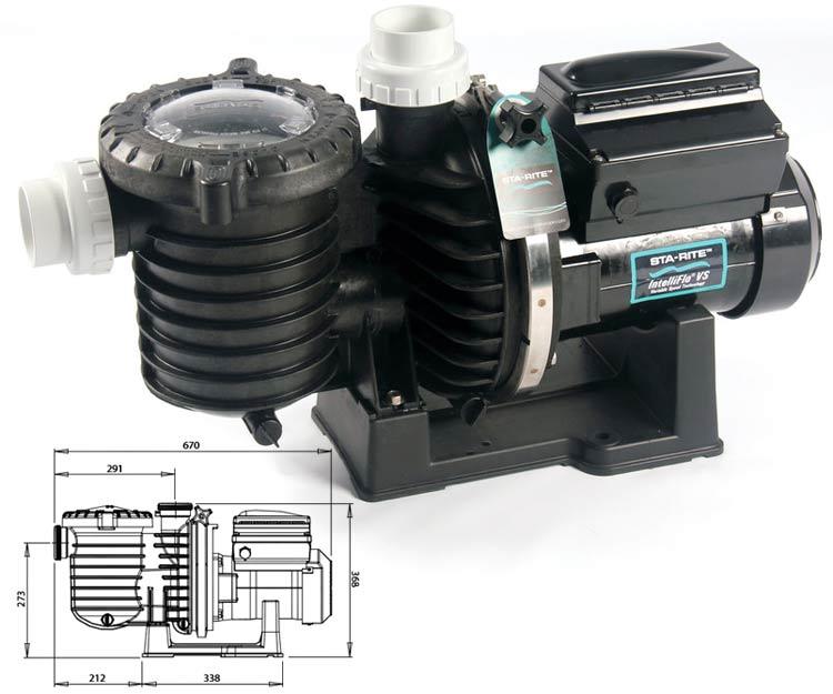 Pompe vitesse variable intelliflo starite sw 5p6r vs - Comparatif pompe piscine ...