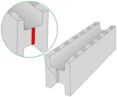 Présentation du bloc M100 du kit piscine polystyrène First Bloc