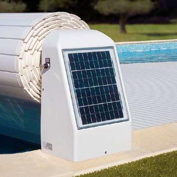 batterie solaire volet piscine