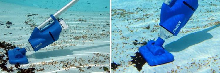 Aspirateur de piscine pool blaster cat fish - Robot piscine sans fil ...