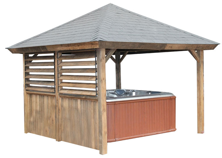 Gazebo Piramid Roof Un Pavillon De Jardin Id 233 Al Autour De
