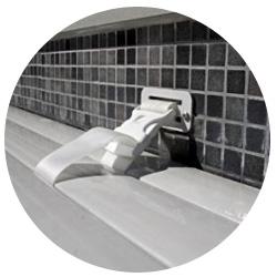 Volet manuel hors sol voleo for Changer margelle piscine