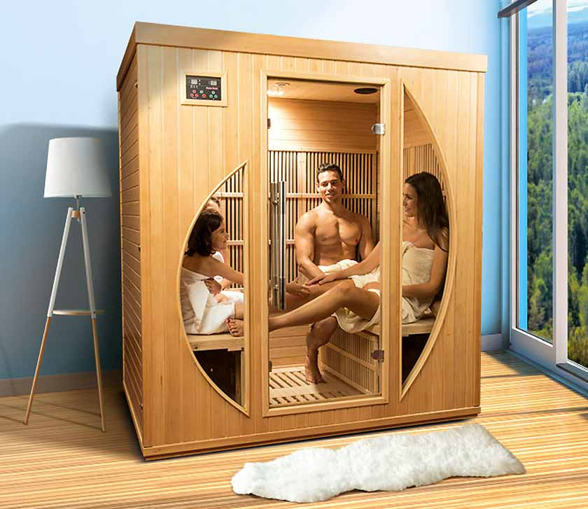 Sauna infrarouge Colorado 4 places