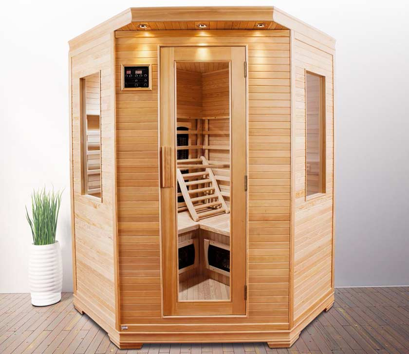 Sauna infrarouge 3 4 places oklahoma - Sauna infrarouge 4 places ...