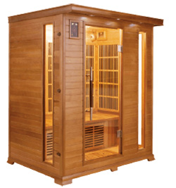Sauna infrarouge luxe 3