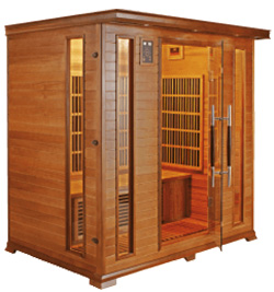 Luxe 4 sauna infrarouge