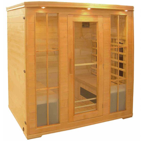 Sauna infrarouge stin 4 places - Sauna infrarouge 4 places ...
