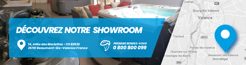 Showroom spa valence