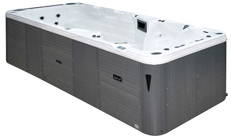 spa swimspa augusta avec 4 jets pour une nage contre courant. Black Bedroom Furniture Sets. Home Design Ideas