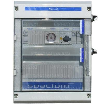 Coffrets lectriques spacium pour la filtration et les for Coffret technique piscine