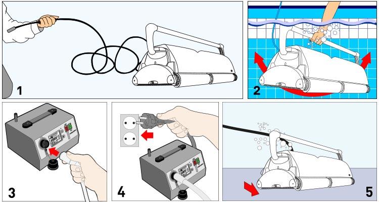 robot piscine ultramax