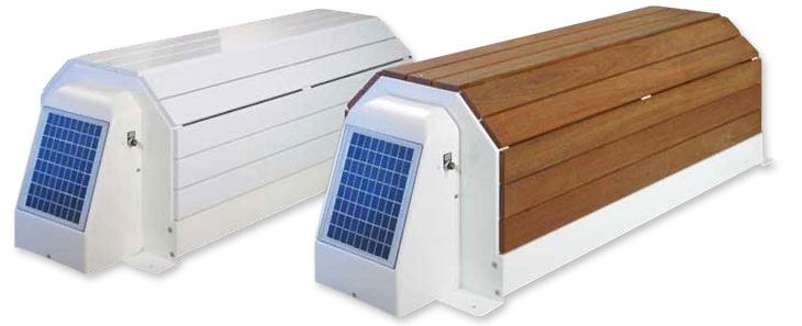 Volet roulant hors sol solaire capcir eco for Piscine tubulaire imitation bois