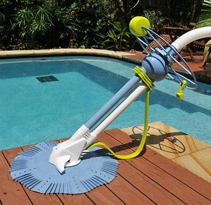Robot piscine hydraulique zap vac for Prise robot piscine