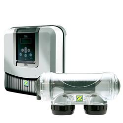 Traitement automatique de l 39 eau de piscine par for Cash piscine sel